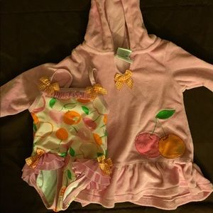 Other - Infant bathing suit and coverup
